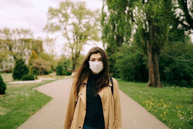 get rid of maskne