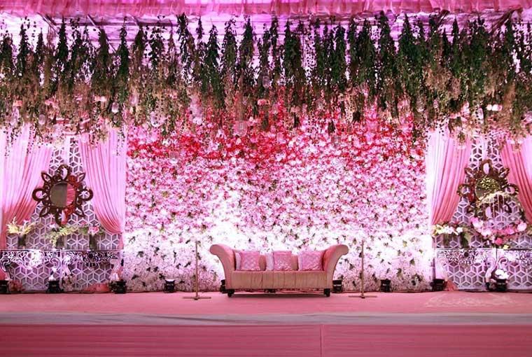 Pink themed décor